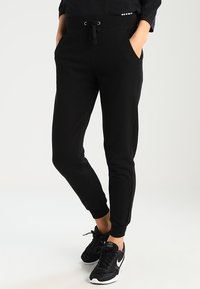 New Look - BASIC BASIC  - Tracksuit bottoms - black - 0