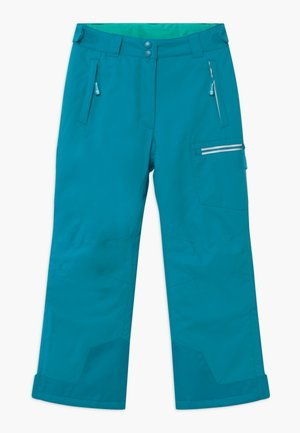 KIDS HALLINGDAL - Snow pants - light petrol/dark mint