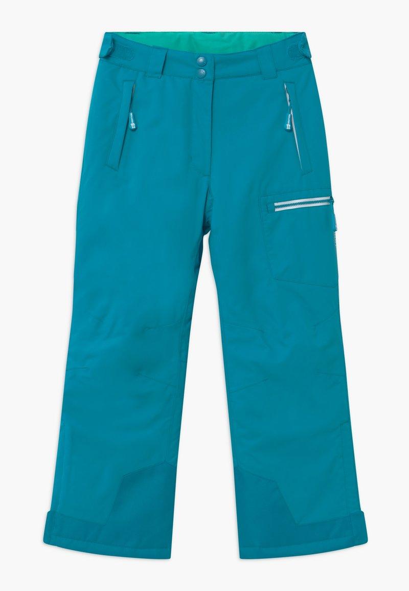 TrollKids - KIDS HALLINGDAL - Snow pants - light petrol/dark mint