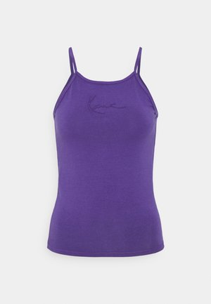 SMALL SIGNATURE WASHED - Top - purple