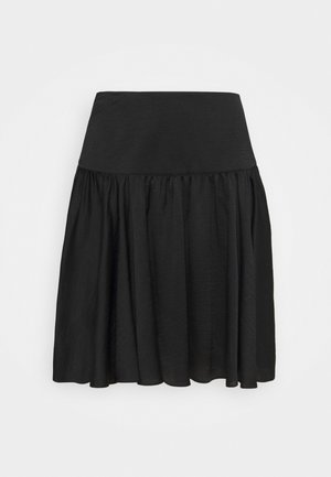 RASILA - Mini skirt - black