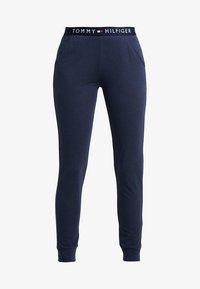 Tommy Hilfiger - ORIGINAL CUFFED PANT - Pyjama bottoms - navy blazer - 3