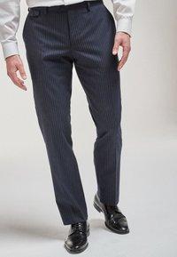 Next - Pantaloni eleganti - mottled blue - 0