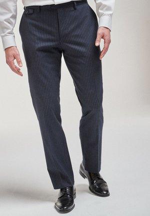 Pantaloni eleganti - mottled blue