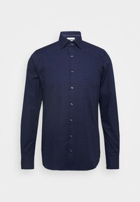 CHECK EASY CARE SLIM - Formal shirt - navy