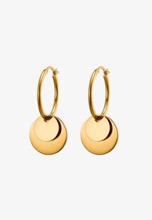 CREOLE BINUS POLIERT - Earrings - goldfarben