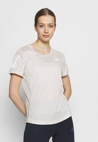 adidas Performance - OWN THE RUN TEE - Camiseta estampada - alumin - 3