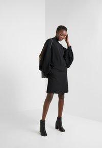 HUGO - RIMENAS - A-line skirt - black - 1