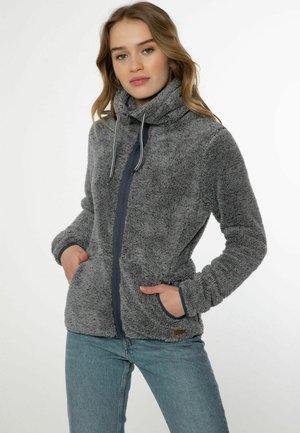 FULL ZIP RIRI - Fleecová bunda - dark grey melee