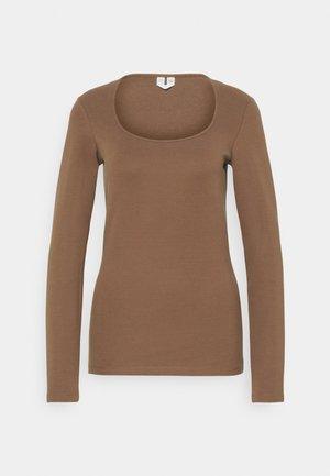LONGSLEEVE - Long sleeved top - brown