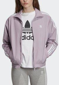 adidas Originals - TRACK TOP - Träningsjacka - purple - 4