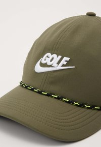 Nike Golf - AROBILL ROPE UNISEX - Cap - medium olive/anthracite/white - 3