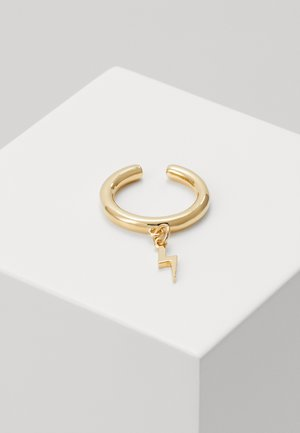 LIGHTNING CHARM SINGLE EAR CUFF - Náušnice - pale gold-coloured