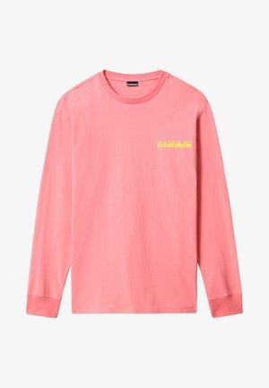 BEATNIK - Bluzka z długim rękawem - pink strawberry