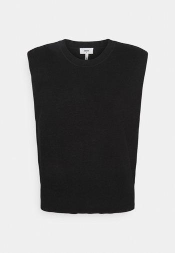 OBJDIVIANNA - Sweter - black