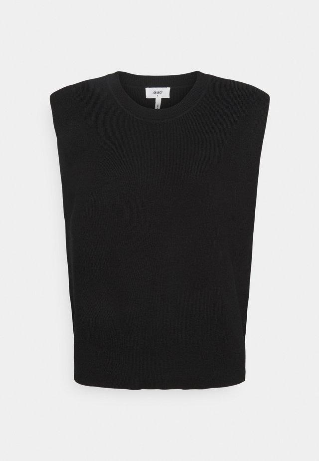 OBJDIVIANNA - Jersey de punto - black