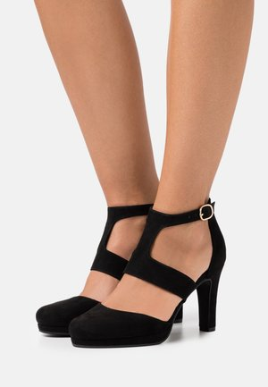 Zapatos altos - black