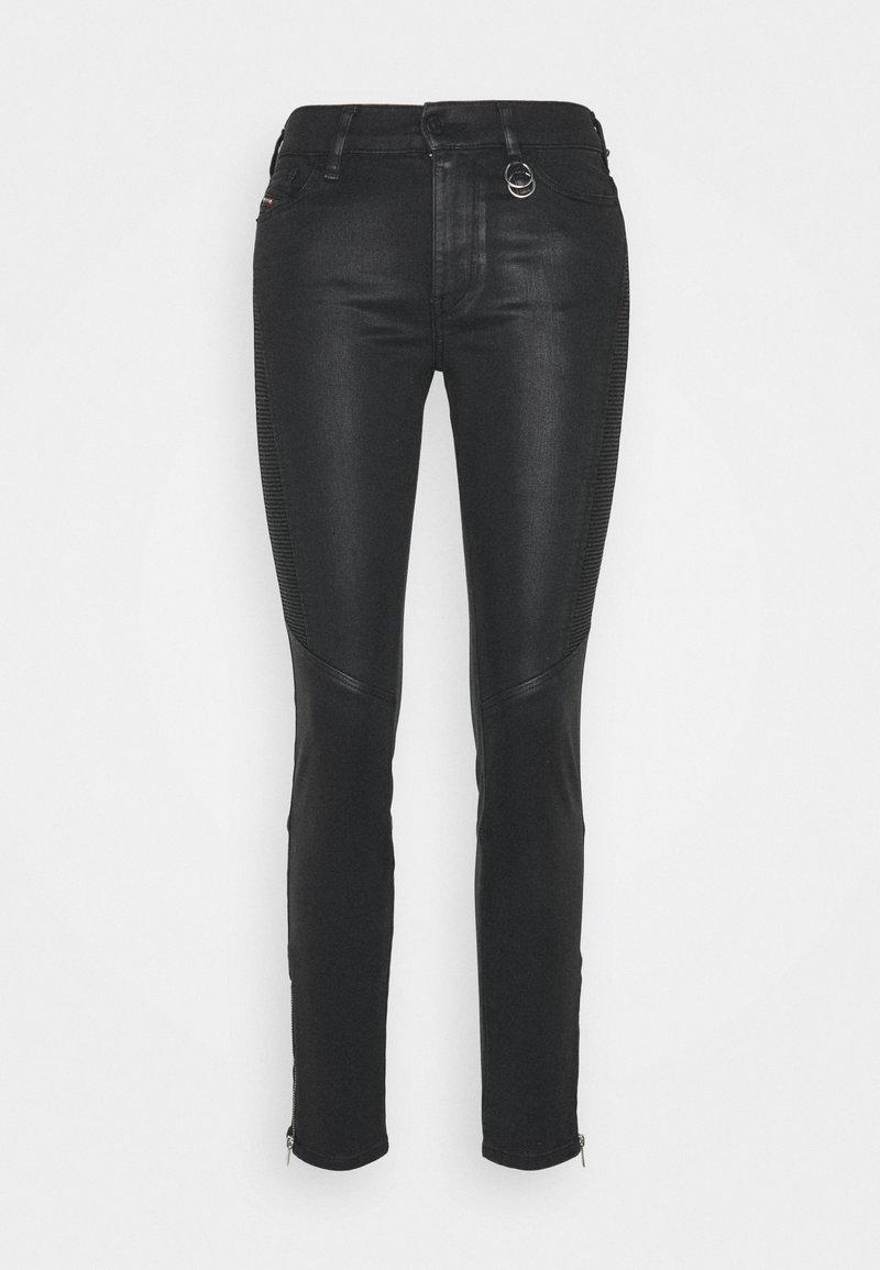 Diesel - SLANDY-BKM - Jeans Skinny Fit - black