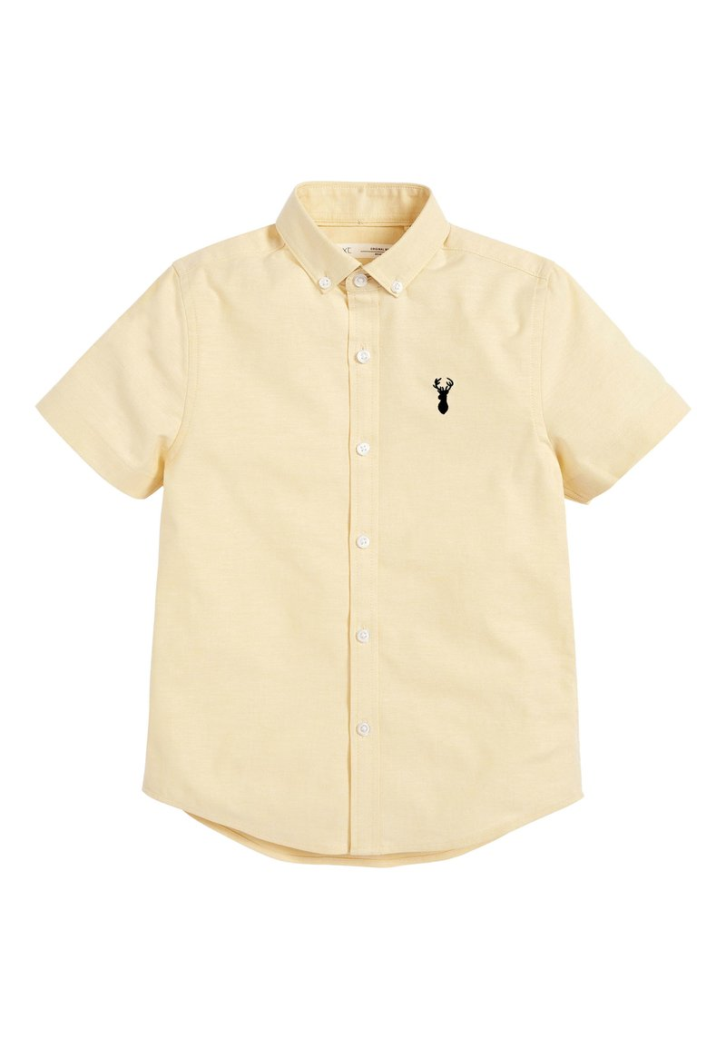 Next - YELLOW SHORT SLEEVE OXFORD SHIRT (3-16YRS) - Košile - yellow