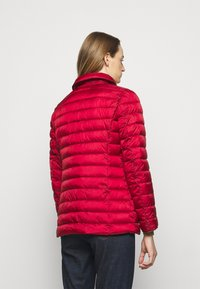 Lauren Ralph Lauren - MATTE FINISH SHORT JACKET - Light jacket - red - 2