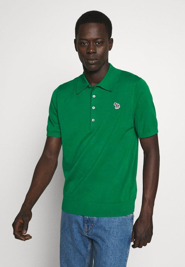 MENS CREW NECK - Polo shirt - dark green
