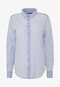 Marc O'Polo - LONG SLEEVED - Button-down blouse - foggy sky - 4