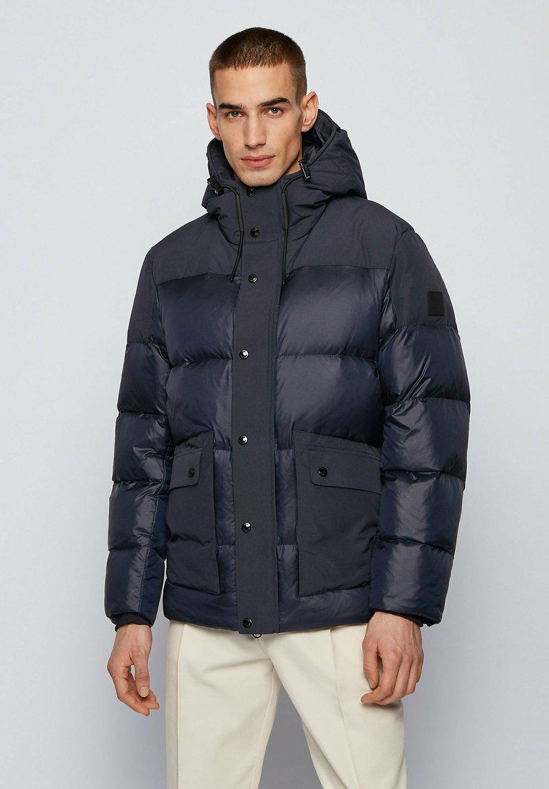 BOSS - DAKIL - Down jacket - dark blue