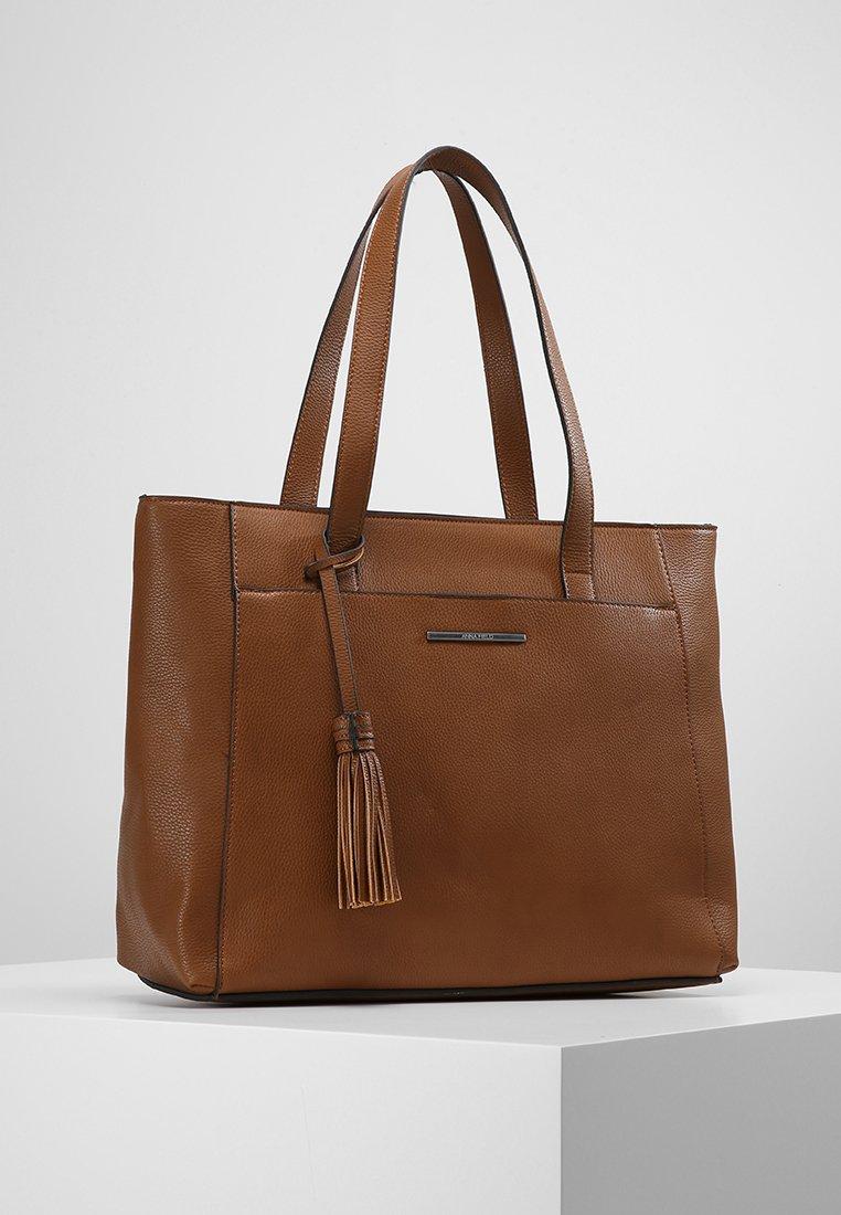 Anna Field - Bolso shopping - cognac