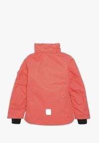 Reima - FROST - Snowboard jacket - bright salmon - 2