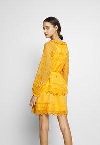 YAS - YASDANA DRESS  - Vestido informal - cadmium yellow - 3