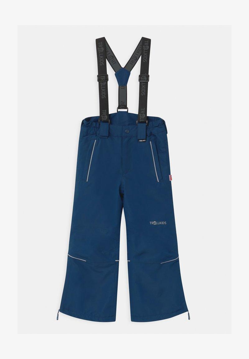 TrollKids - KIDS HOLMENKOLLEN SNOW SLIM FIT UNISEX - Zimní kalhoty - mystic blue