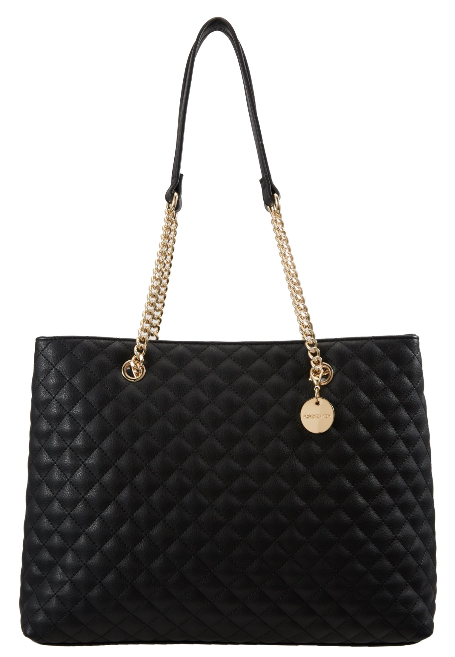 Forever New QUILTED SHOULDER BAG - Håndveske - black/svart o3bOsGyRh222ruc