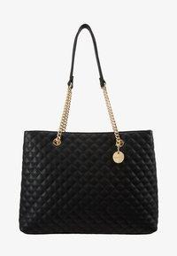 Forever New - QUILTED SHOULDER BAG - Handbag - black - 4