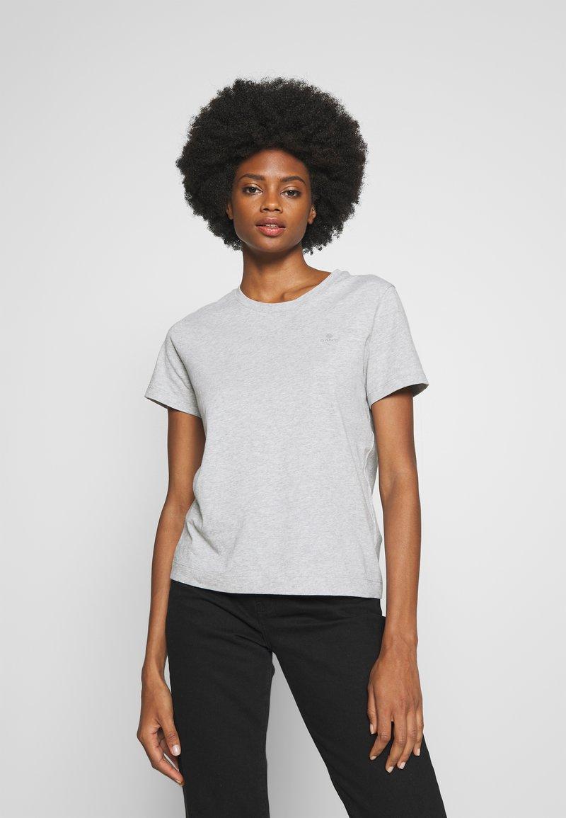 GANT - THE ORIGINAL  - Basic T-shirt - light grey