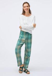 OYSHO - Pyjama bottoms - evergreen - 1