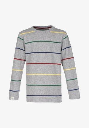 Langærmede T-shirts - grey-mel