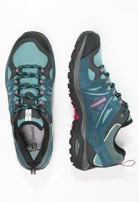 Salomon - ELLIPSE 2 AERO  - Hiking shoes - artic/reflecting pond/sangria - 1