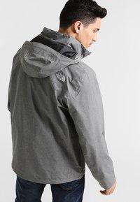 The North Face - SANGRO JACKET - Veste Hardshell - medium grey heather - 2