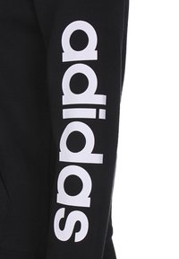 adidas Performance - ESSENTIALS - Sudadera con cremallera - black / white - 2
