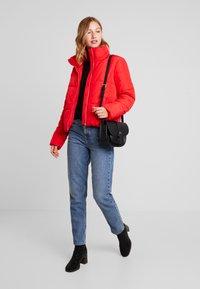 JDY - Winter jacket - goji berry - 1
