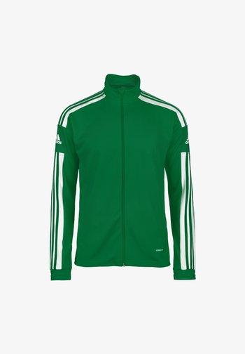 Felpa con zip - team green / white