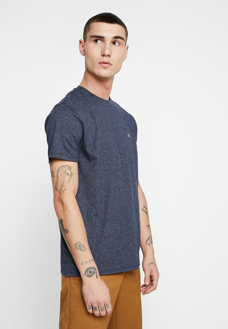 Tommy Jeans - TJM BLENDED TEE - T-shirt basic - blue