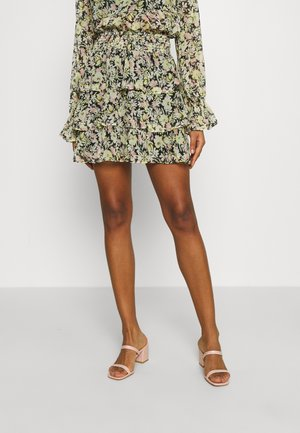 EXCLUSIVE ARCHER FRILL SKIRT - Minirock - spring flower