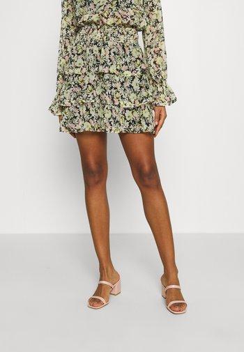 EXCLUSIVE ARCHER FRILL SKIRT - Mini skirt - spring flower