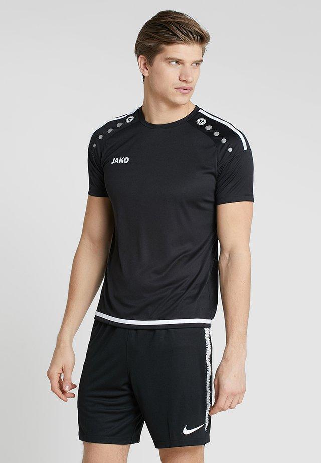 TRIKOT STRIKER 2.0 - T-shirt con stampa - schwarz/weiß