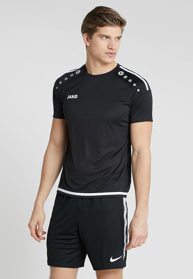 TRIKOT STRIKER  - Funkční triko - schwarz/weiß