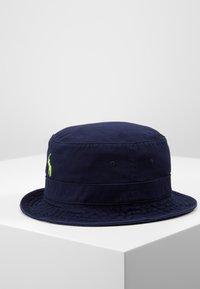 Polo Ralph Lauren - BUCKET HAT - Hatt - navy/neon - 3