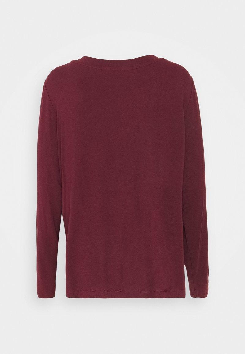 Anna Field Langarmshirt - dark red/dunkelrot zNIMGh