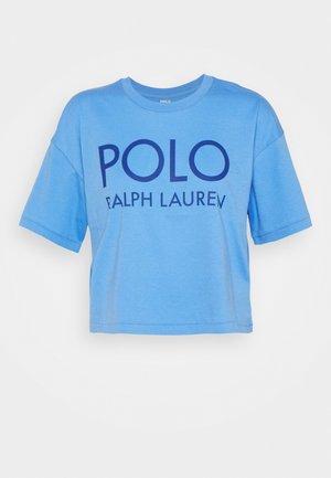 Print T-shirt - harbor island blue