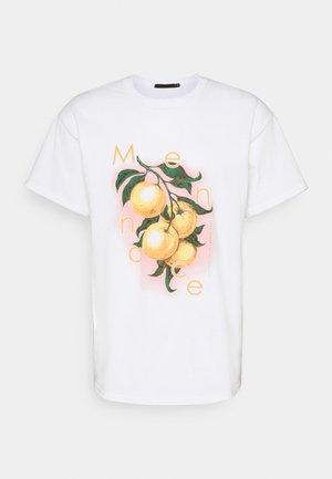 HAVANA ORANGES REGULAR - Print T-shirt - white